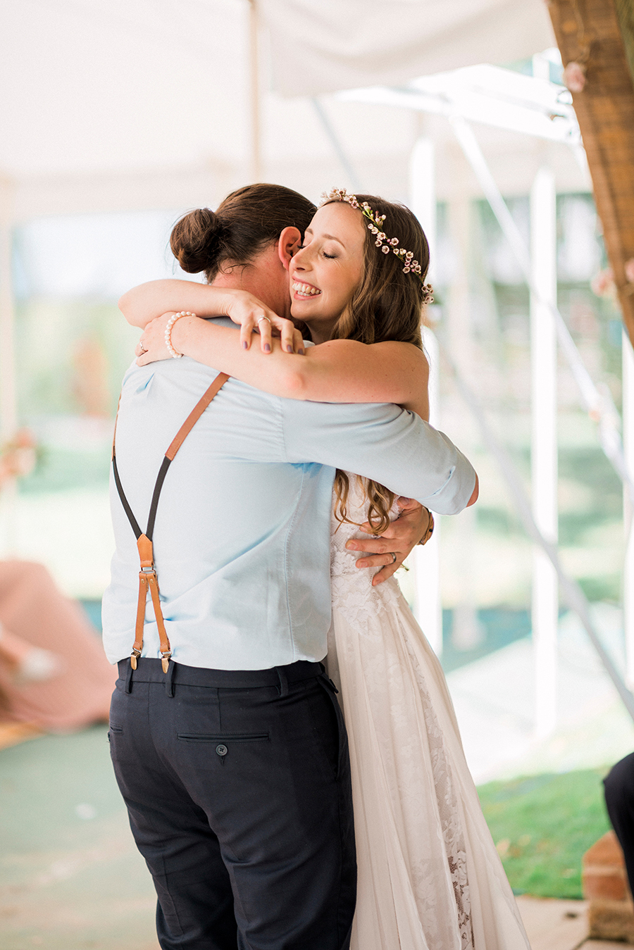 Dreamy boho wedding at Houchins Farm with images by Kathryn Hopkins Photography (10)