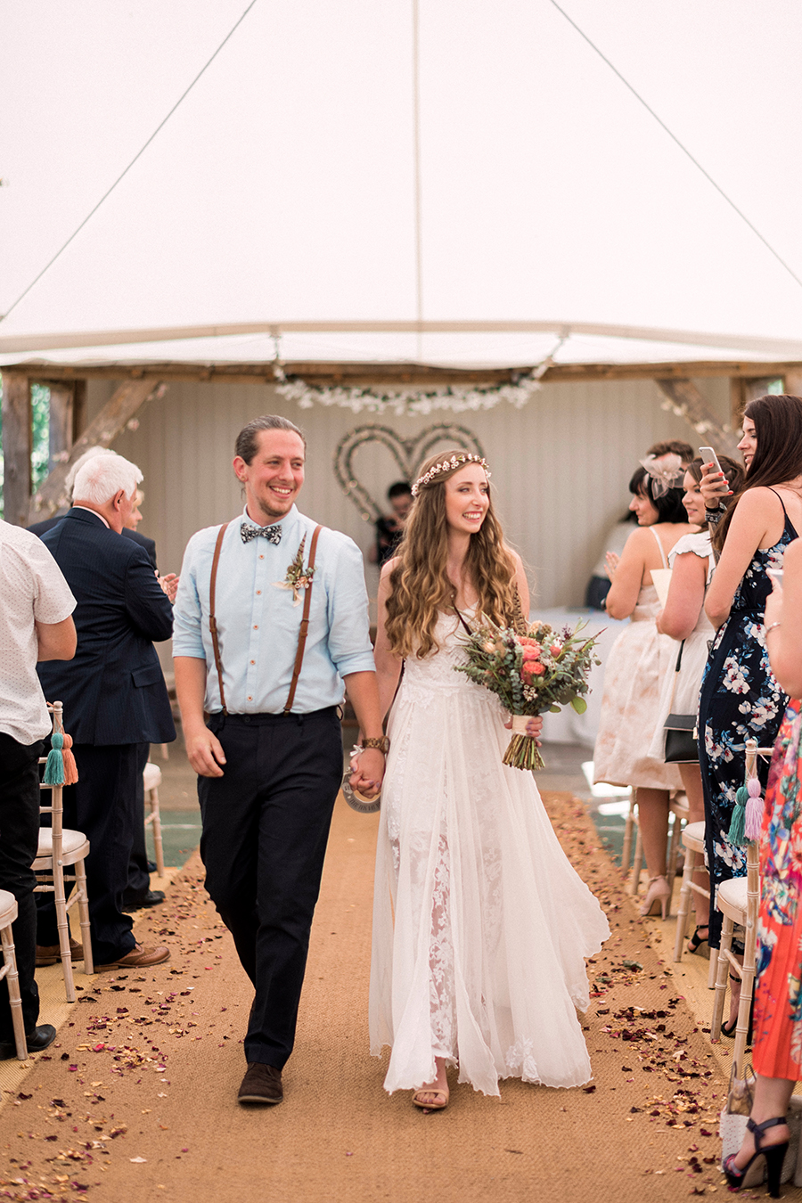 Dreamy boho wedding at Houchins Farm with images by Kathryn Hopkins Photography (11)