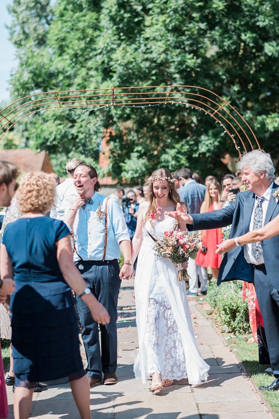Dreamy boho wedding at Houchins Farm with images by Kathryn Hopkins Photography (12)
