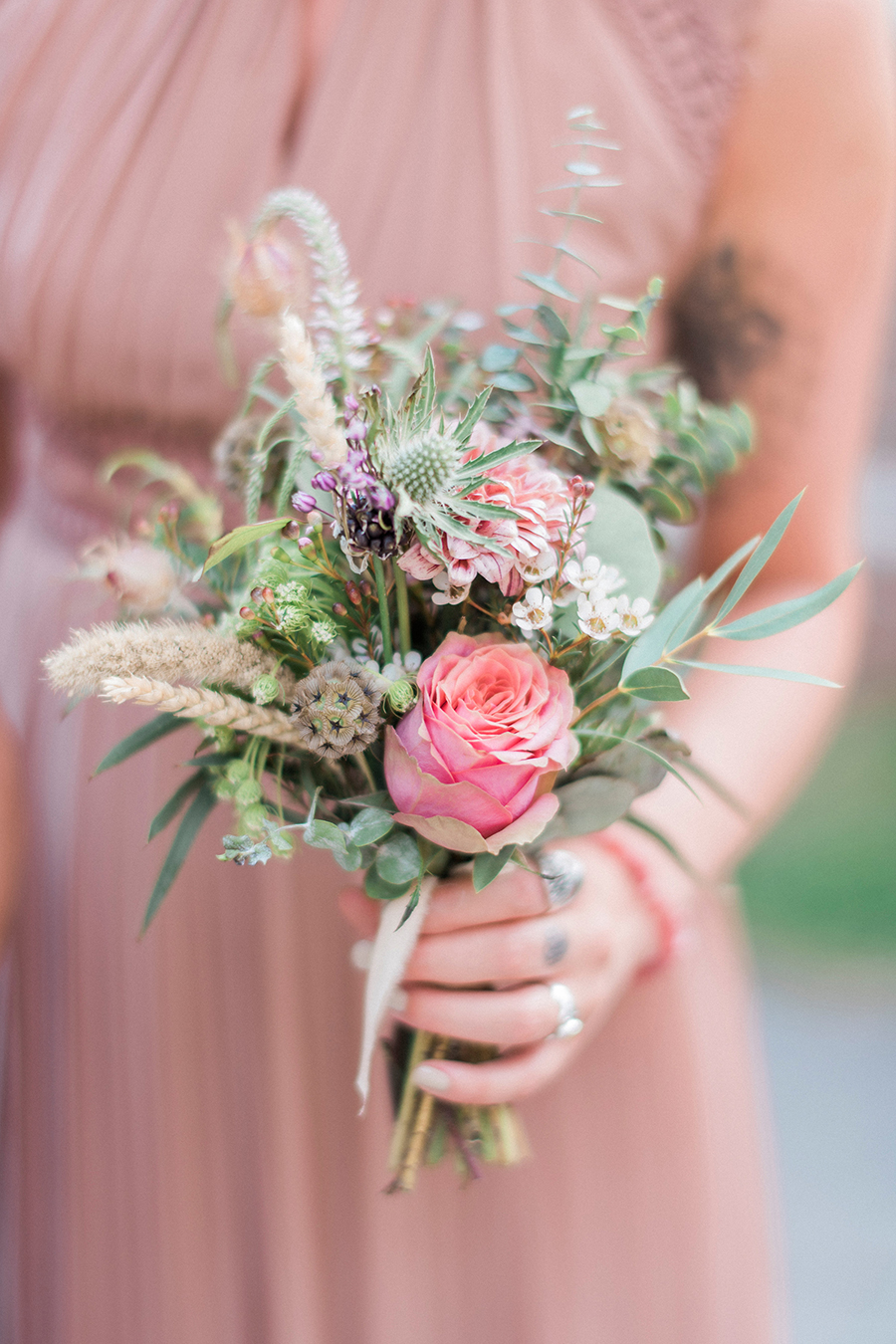 Dreamy boho wedding at Houchins Farm with images by Kathryn Hopkins Photography (28)