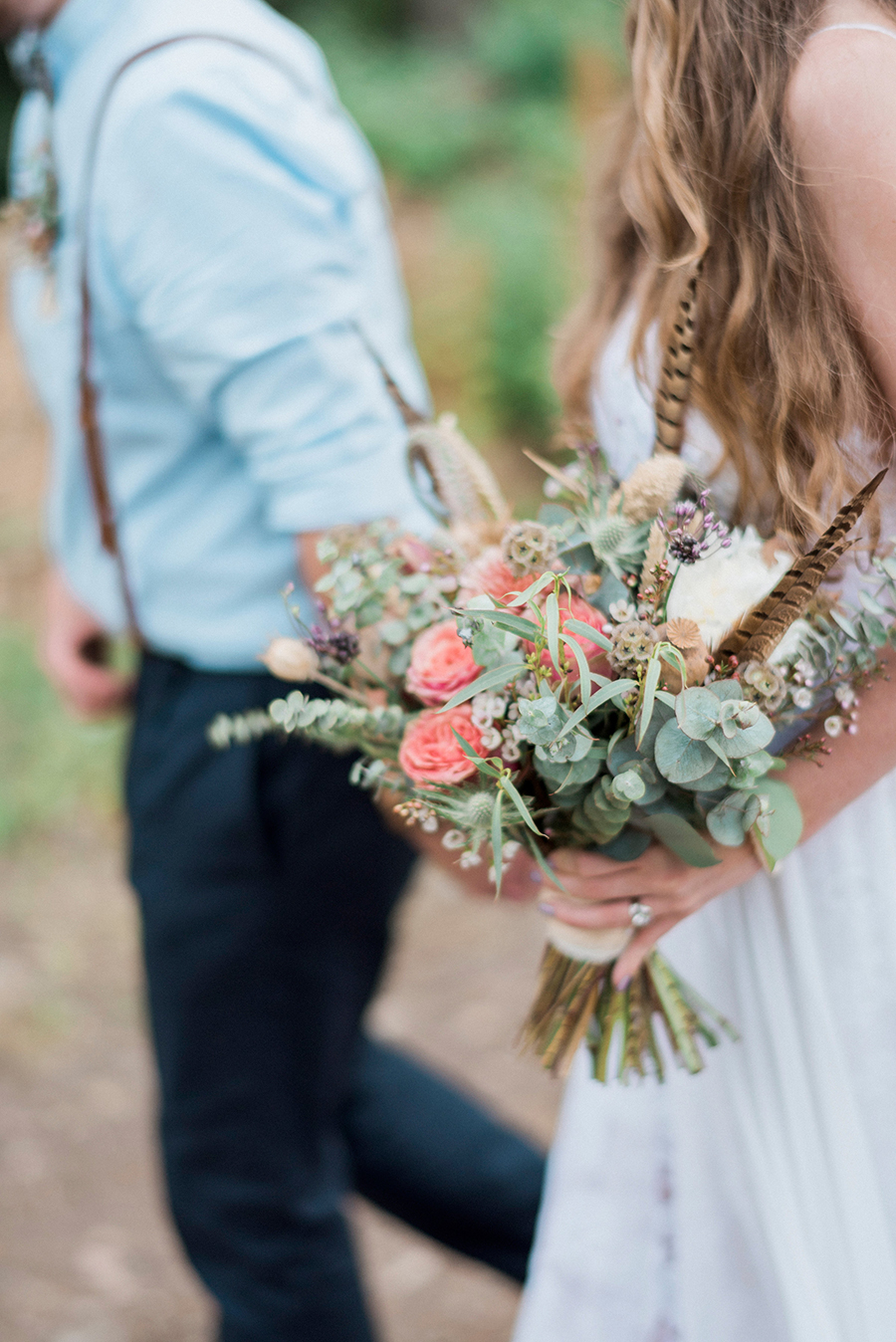 Dreamy boho wedding at Houchins Farm with images by Kathryn Hopkins Photography (31)