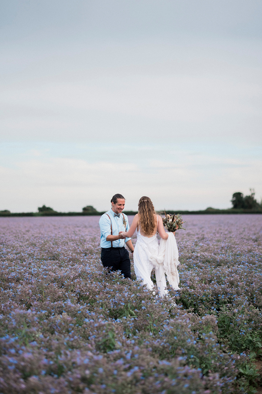 Dreamy boho wedding at Houchins Farm with images by Kathryn Hopkins Photography (37)