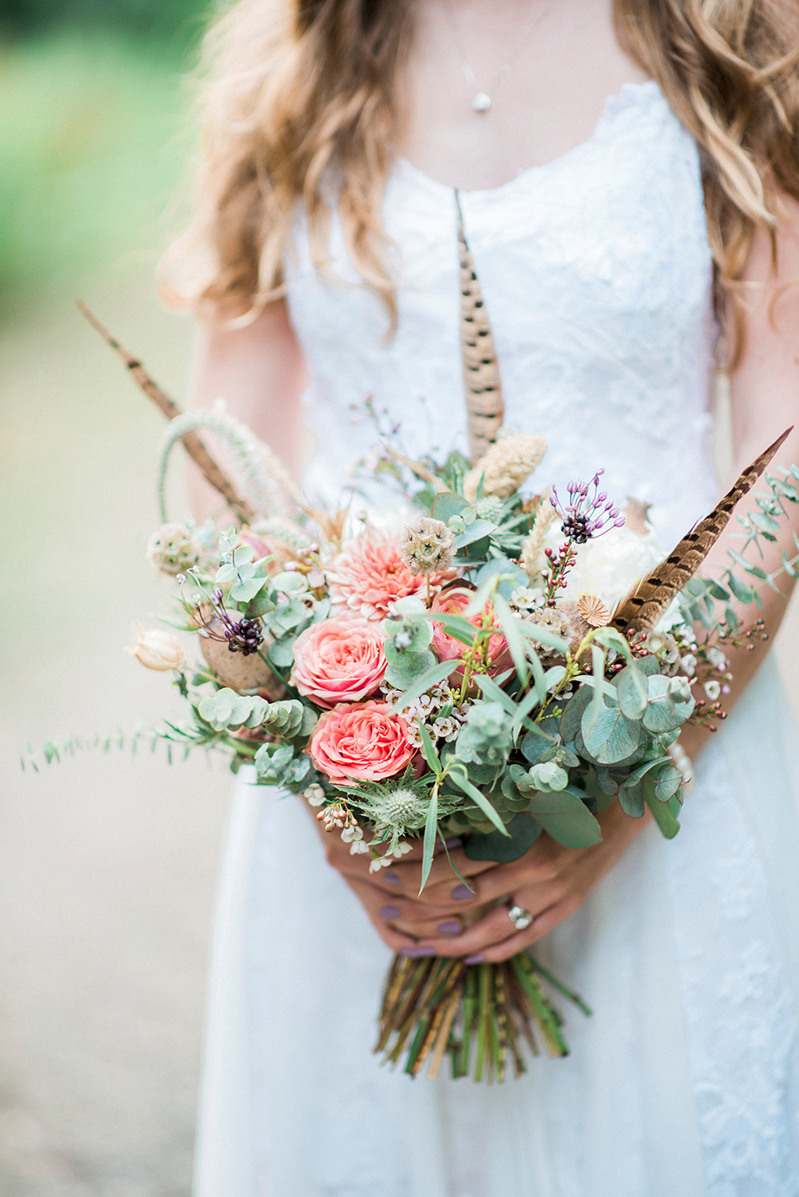 Dreamy boho wedding at Houchins Farm with images by Kathryn Hopkins Photography (43)
