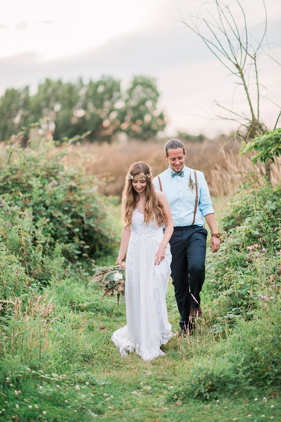 Dreamy boho wedding at Houchins Farm with images by Kathryn Hopkins Photography (44)