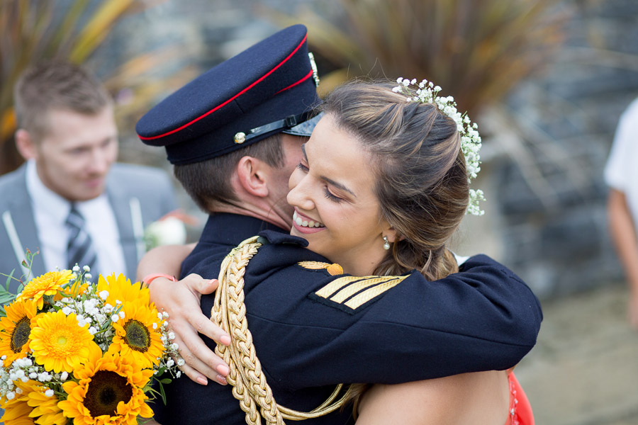 Polhawn Fort wedding in Cornwall with Martin Dabek Photography on the English Wedding Blog (12)