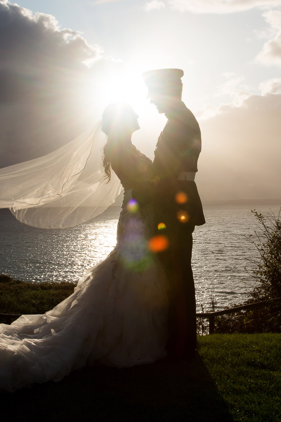 Polhawn Fort wedding in Cornwall with Martin Dabek Photography on the English Wedding Blog (15)