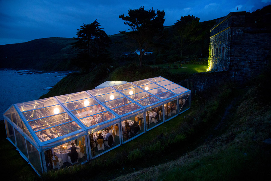 Polhawn Fort wedding in Cornwall with Martin Dabek Photography on the English Wedding Blog (24)