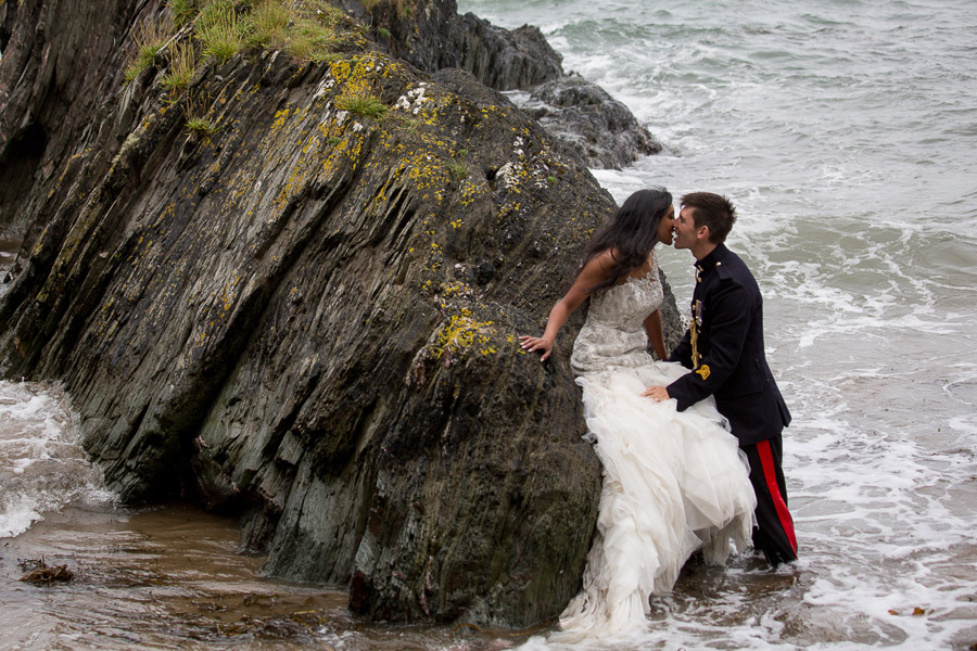 Polhawn Fort wedding in Cornwall with Martin Dabek Photography on the English Wedding Blog (35)
