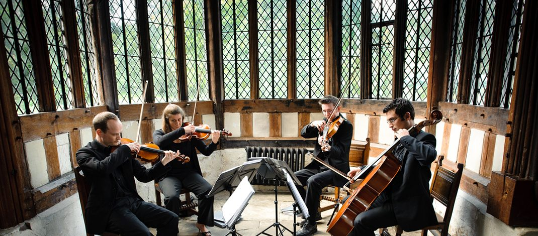 find string quartets for your UK wedding