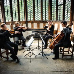 The best string quartets for classic English weddings
