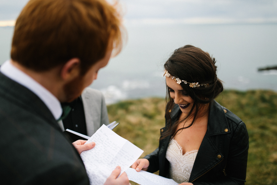 Dunluce Castle elopement Northern Ireland Antrim, images by Luke Flint Media on the English Wedding Blog (19)