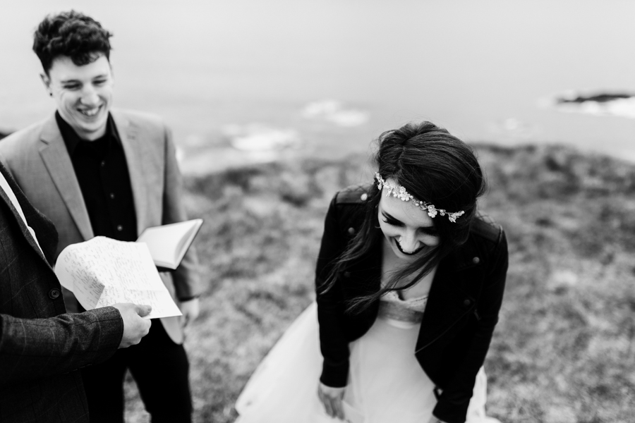 Dunluce Castle elopement Northern Ireland Antrim, images by Luke Flint Media on the English Wedding Blog (20)