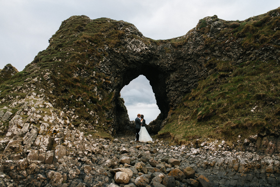 Dunluce Castle elopement Northern Ireland Antrim, images by Luke Flint Media on the English Wedding Blog (34)