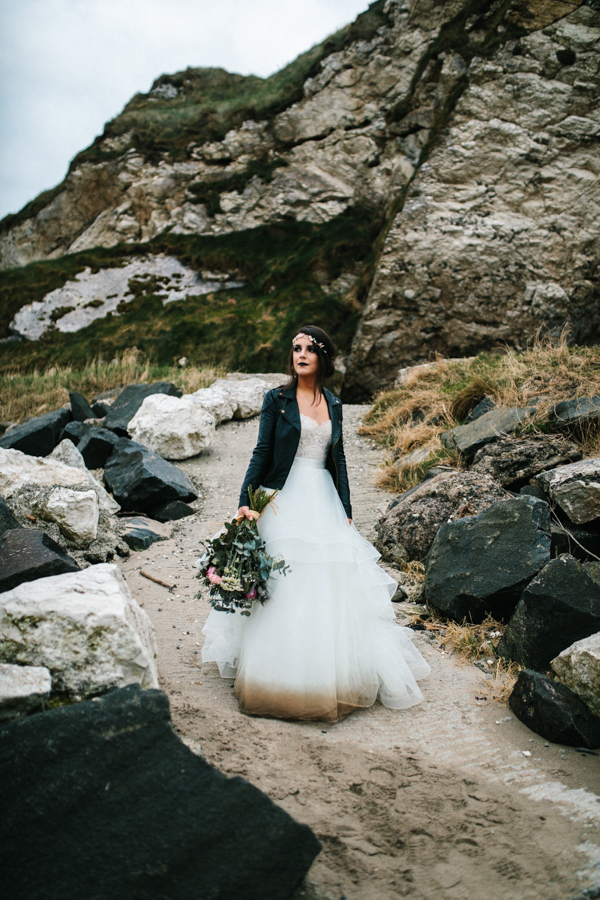 Dunluce Castle elopement Northern Ireland Antrim, images by Luke Flint Media on the English Wedding Blog (40)
