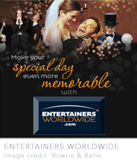 wedding entertainment UK worldwide