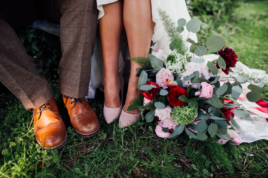 Escheat Farm wedding style inspiration, image by Emily Little (29)