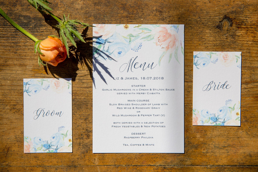 Cassandra June wedding stylist bluebell theme ideas, photography by Craig Payne (16)