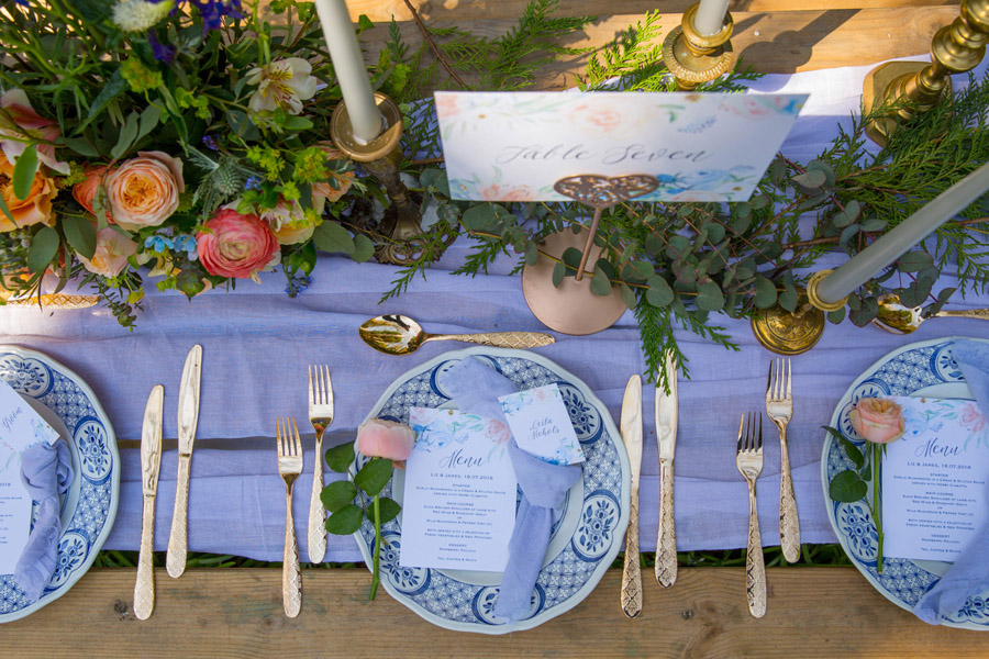 Cassandra June wedding stylist bluebell theme ideas, photography by Craig Payne (27)