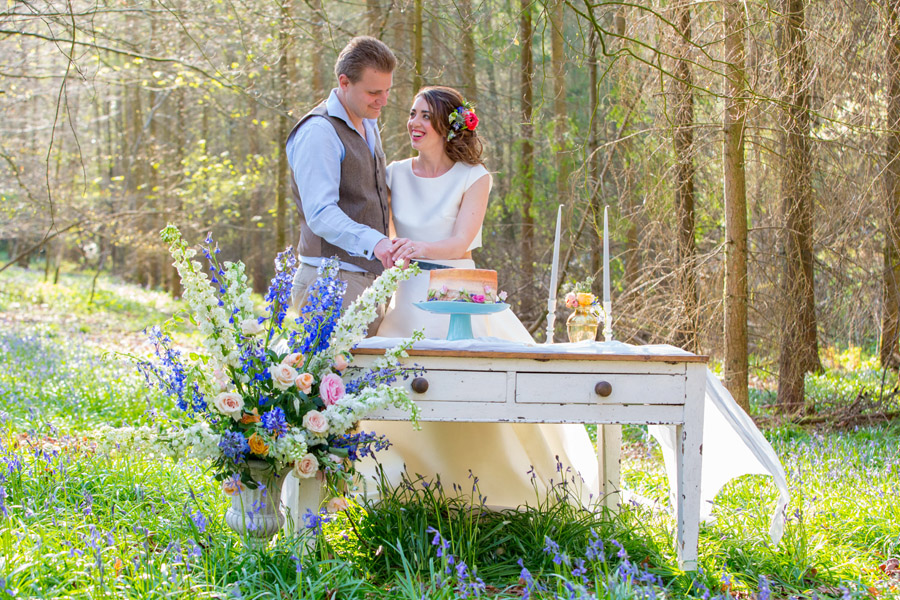 Cassandra June wedding stylist bluebell theme ideas, photography by Craig Payne (4)