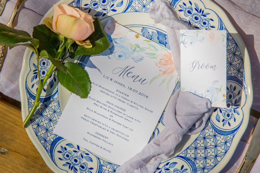 Cassandra June wedding stylist bluebell theme ideas, photography by Craig Payne (26)