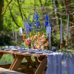 Love amongst the bluebells – back to nature with a relaxed wedding editorial