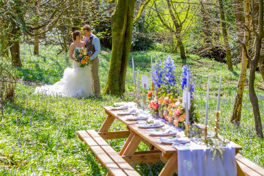 Cassandra June wedding stylist bluebell theme ideas, photography by Craig Payne (23)