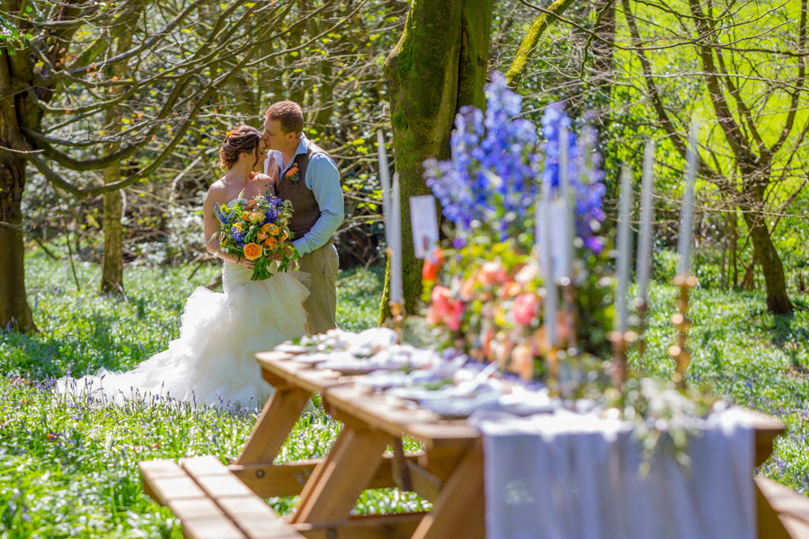 Cassandra June wedding stylist bluebell theme ideas, photography by Craig Payne (22)