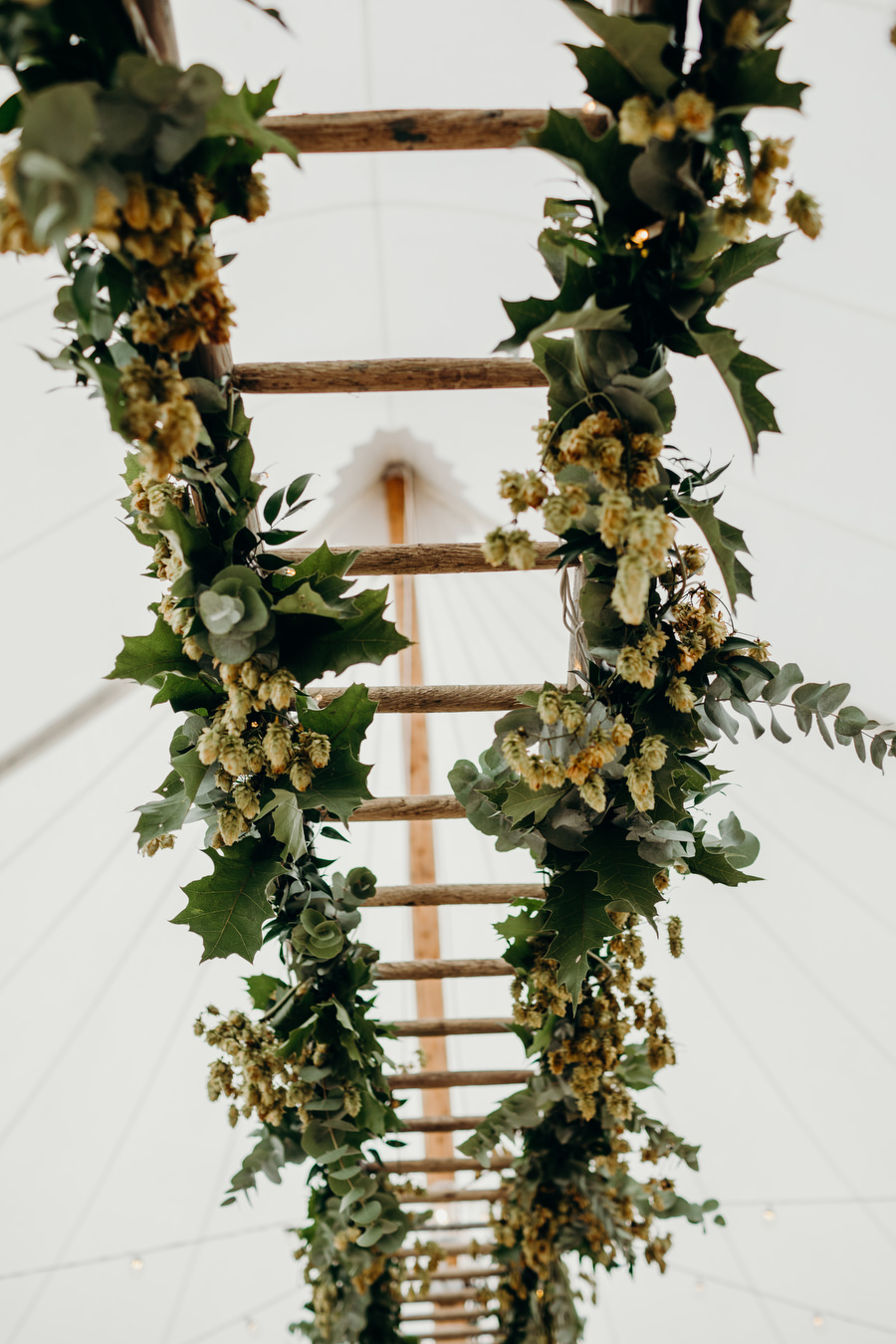 white and green for a gorgeous summer marquee wedding in Herefordshire, images by Richard Skins Photography (10)