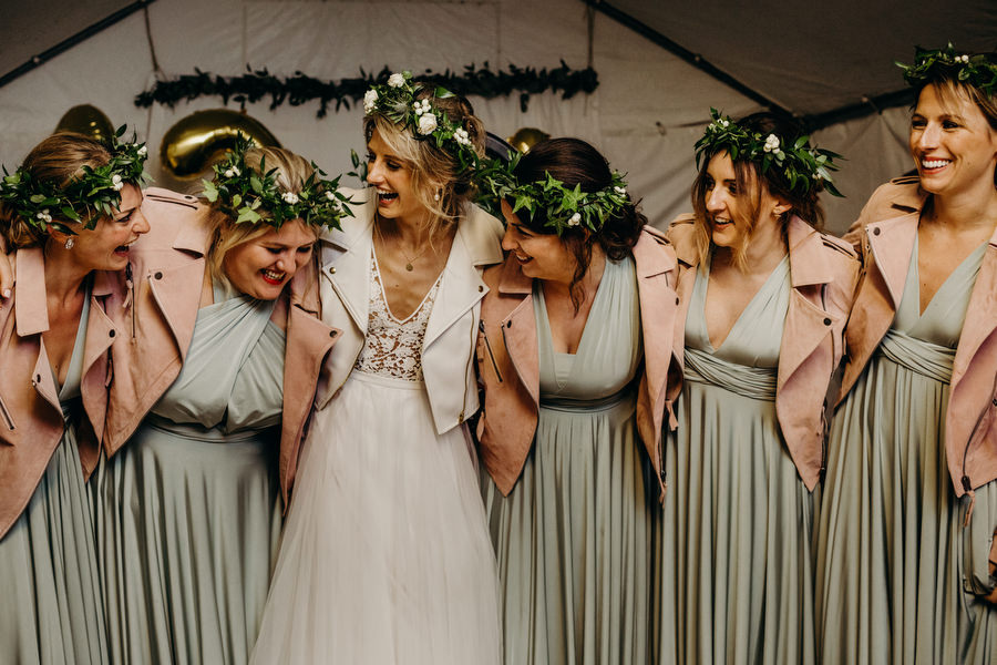 white and green for a gorgeous summer marquee wedding in Herefordshire, images by Richard Skins Photography (33)