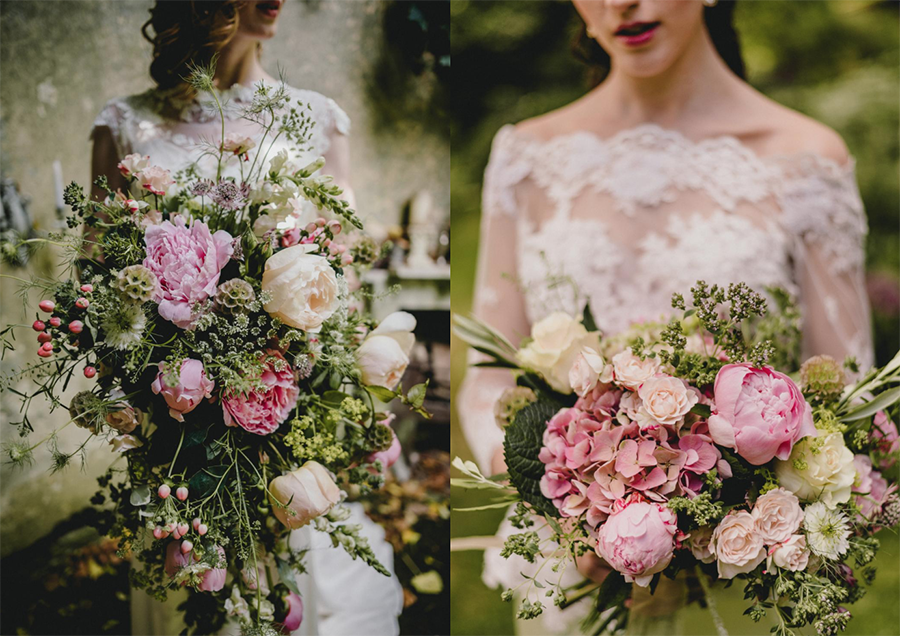 Decadent floral wedding inspiration with Benjamin Mathers Photography