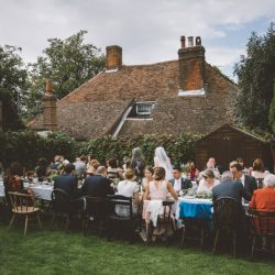 Vikki & Sam's chilled out country pub wedding in Hampshire, with Verman Photography