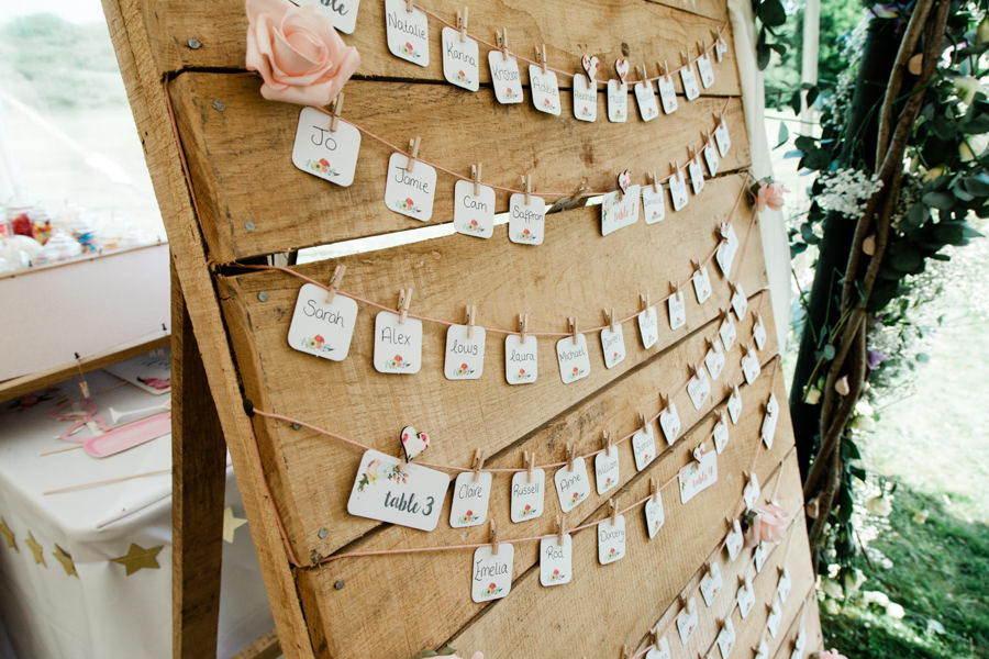 Gorgeous handmade details by the bride for a romantic Hampshire wedding, images by Romy Lawrence Photography (18)