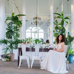 Tropical Inspiration for a Victorian Orangery in London, with Amanda Karen Photography