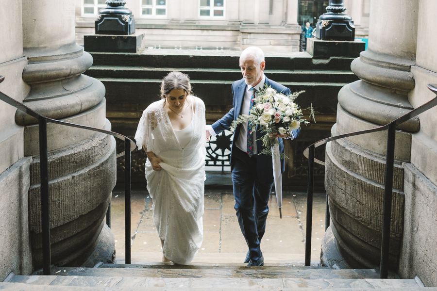 Relaxed and informal modern wedding in Leeds with Anna wood Photography (6)