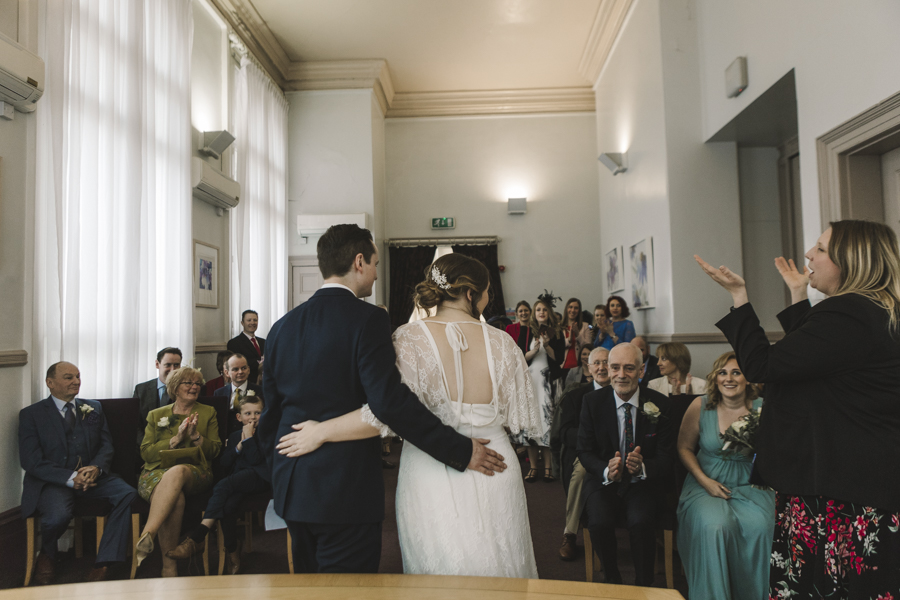 Relaxed and informal modern wedding in Leeds with Anna wood Photography (12)