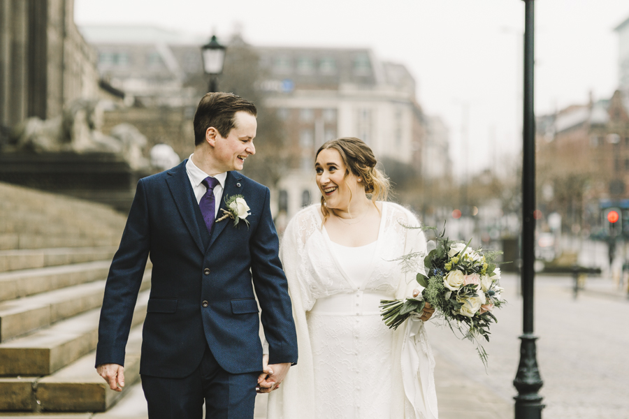Relaxed and informal modern wedding in Leeds with Anna wood Photography (15)