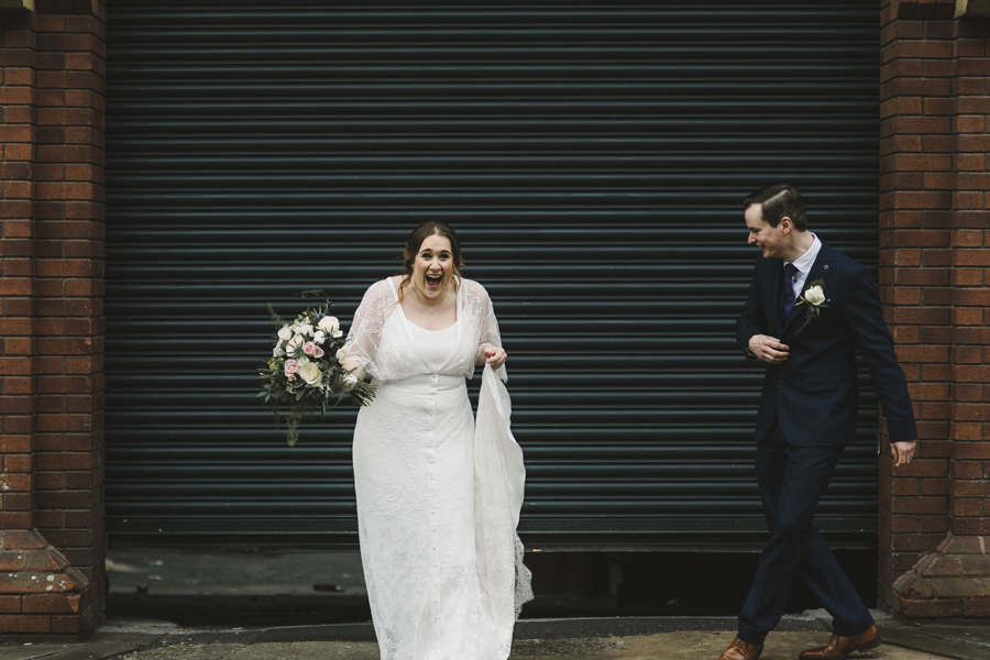 Relaxed and informal modern wedding in Leeds with Anna wood Photography (16)