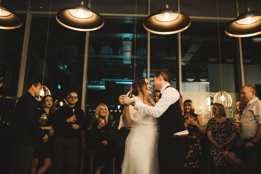 Relaxed and informal modern wedding in Leeds with Anna wood Photography (32)