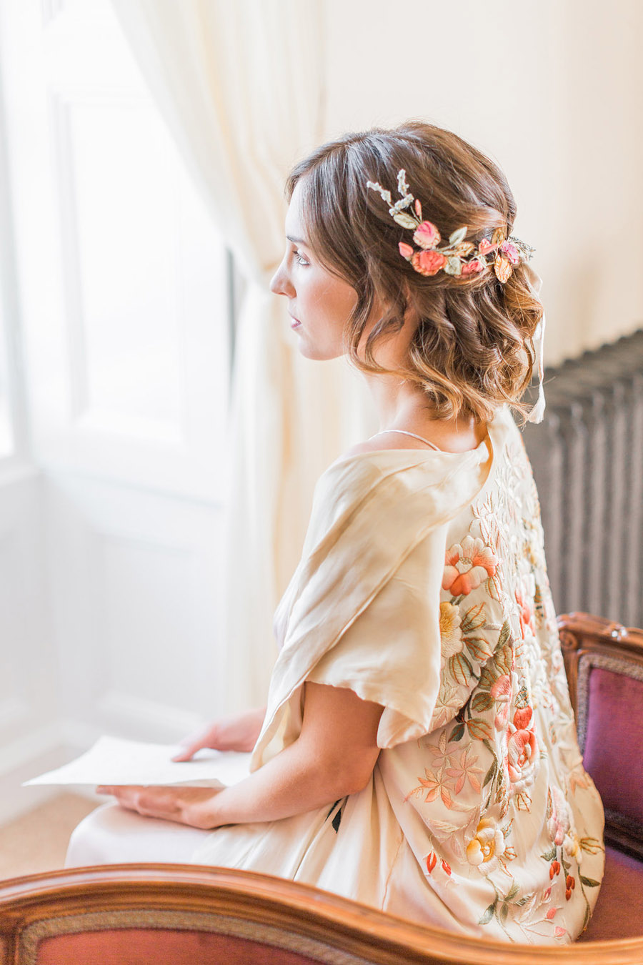 Jane Austen wedding style inspiration from Oxford Hall, with Katy Melling Photography (12)