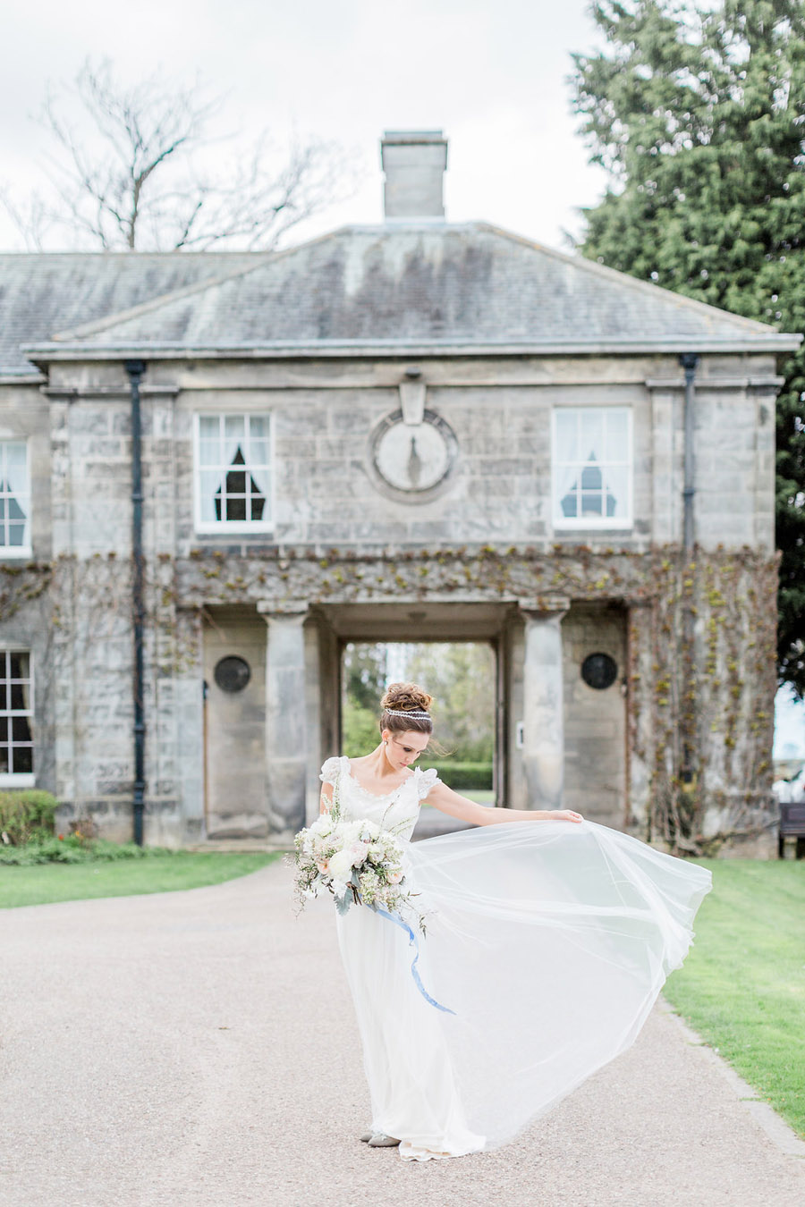 Jane Austen wedding style inspiration from Oxford Hall, with Katy Melling Photography (30)