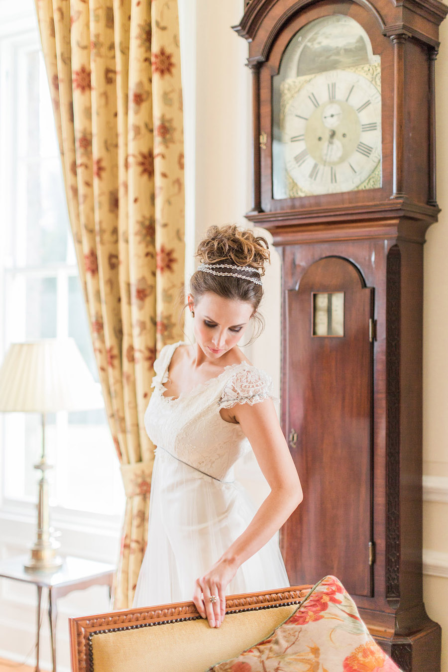 Jane Austen wedding style inspiration from Oxford Hall, with Katy Melling Photography (32)