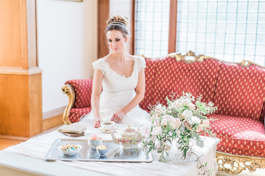 Jane Austen wedding style inspiration from Oxford Hall, with Katy Melling Photography (35)