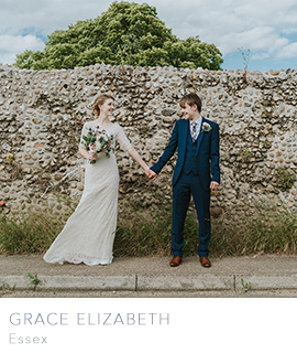 Essex wedding photographer Grace Elizabeth