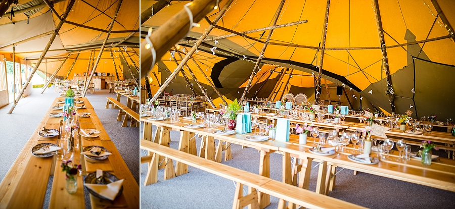 Tipi wedding styling ideas from the Hidden Hive, boho wedding on the English Wedding Blog (4)