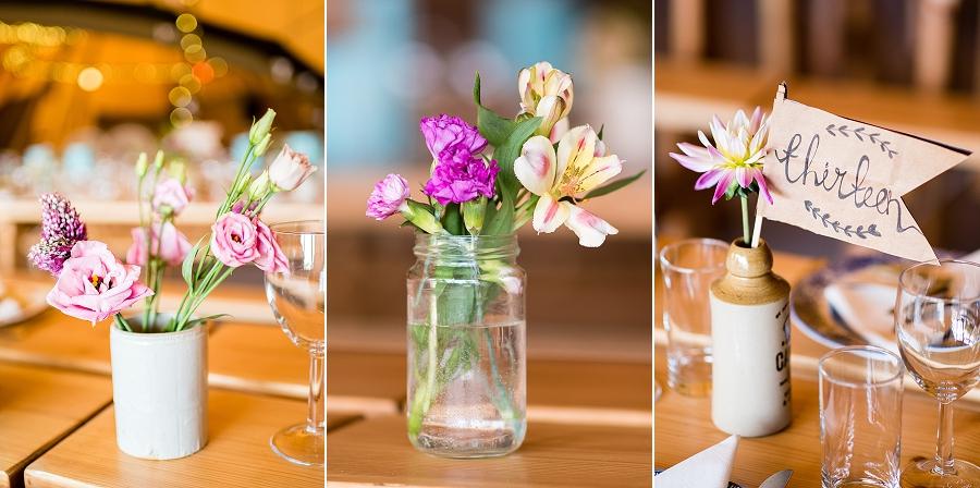 Tipi wedding styling ideas from the Hidden Hive, boho wedding on the English Wedding Blog (5)