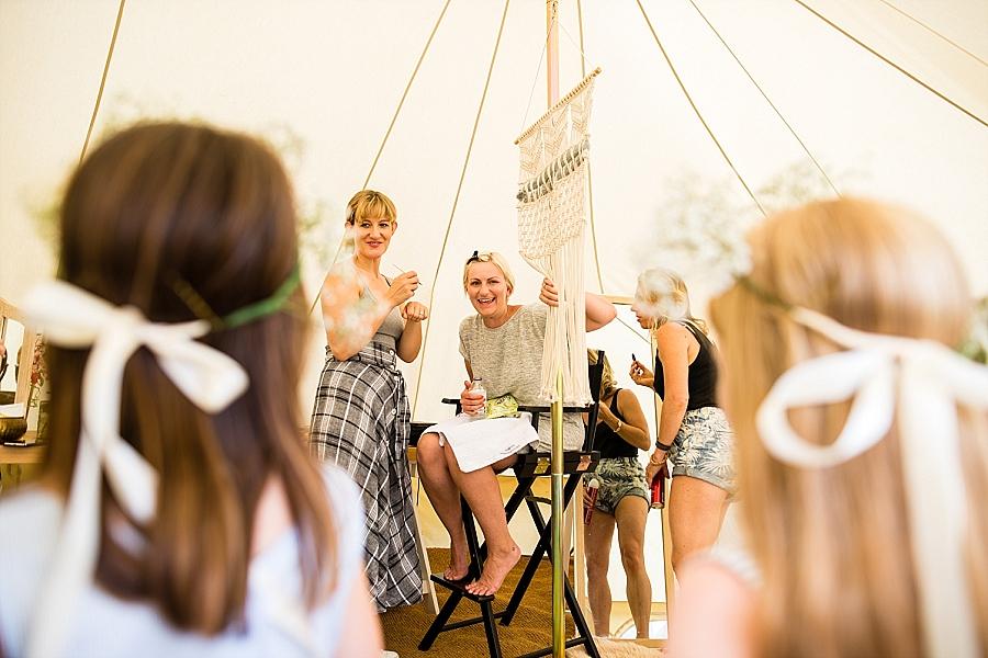 Tipi wedding styling ideas from the Hidden Hive, boho wedding on the English Wedding Blog (8)