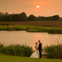Jessica & Jack's rose gold and sparkle wedding at Quantock Lakes, with Martin Dabek Photography