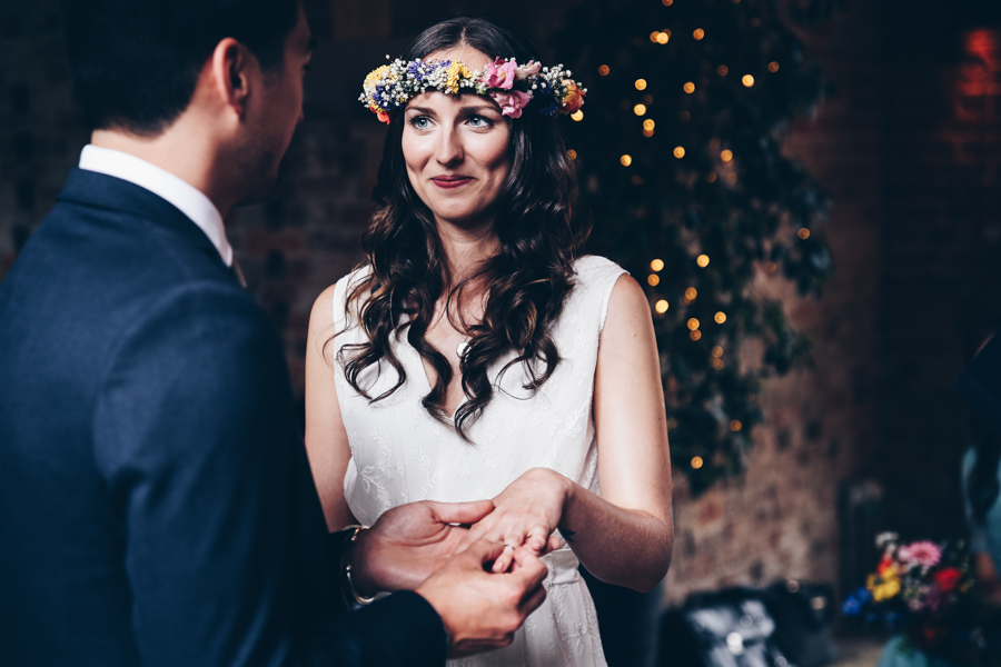 Relaxed hippie boho vibe wedding at Shustoke Farm Barns with Winnington & Coe Photography (25)