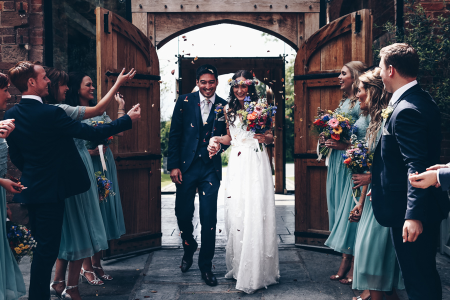 Relaxed hippie boho vibe wedding at Shustoke Farm Barns with Winnington & Coe Photography (27)