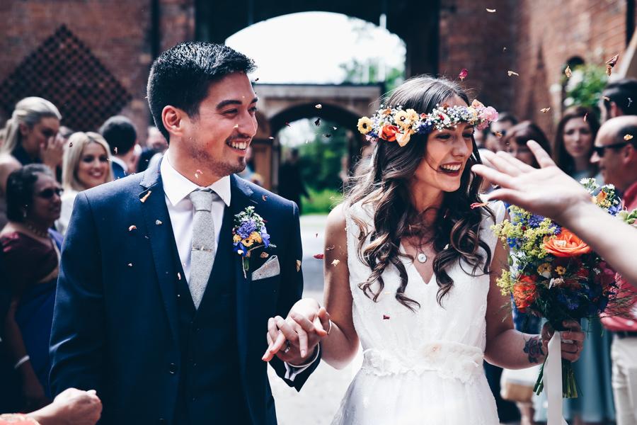 Relaxed hippie boho vibe wedding at Shustoke Farm Barns with Winnington & Coe Photography (28)